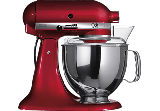 kitchen aid 5ksm150pseca liebesapfel rot k chenmaschinen online kaufen bei mediamarkt. Black Bedroom Furniture Sets. Home Design Ideas