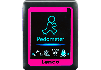 LENCO Podo-152 MP4 Player (4 GB, Pink)