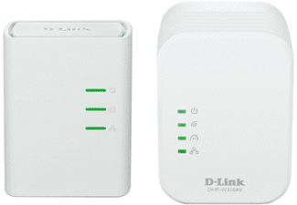 D-LINK PowerLine AV 500 Wireless N Mini Starter Kit - (DHP-W311AV)