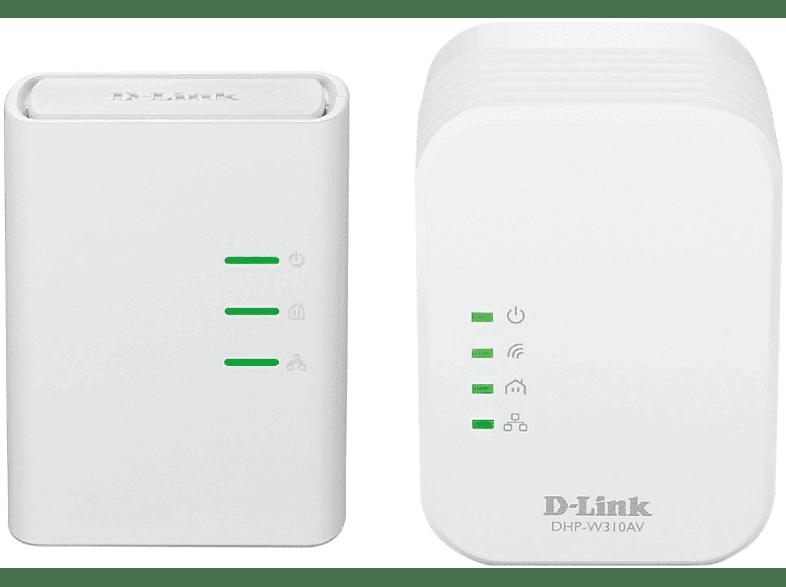 D-LINK PowerLine AV 500 Wireless N Mini Starter Kit - (DHP-W311AV) computing   tablets   offline networking powerline laptop  tablet  computing  δι
