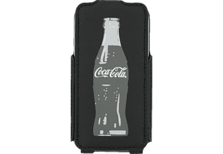 coca cola flip case grey bottle iphone 5 online kaufen bei mediamarkt. Black Bedroom Furniture Sets. Home Design Ideas