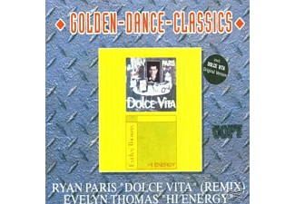 Ryan Paris, Paris,Ryan/Thomas,Evelyn - Dolce Vita-Hi Energy - (Maxi Single CD)