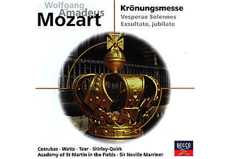 VARIOUS, Cotrubas/Watts/Tear/Marriner/AMF/+ - Krönungsmesse Kv 317 [CD]