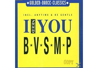 B.V.S.M.P. - I Need You-Anytime-Be Gentle - (Maxi Single CD)