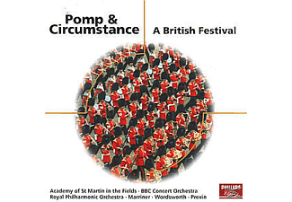 VARIOUS, Previn/Wordsworth/Marriner/LPO - POMP & CIRCUMSTANCE - A BRITISH FESTIVAL - (CD)