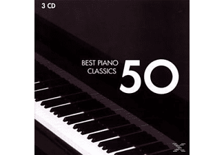 Various - 50 Best Piano [CD]