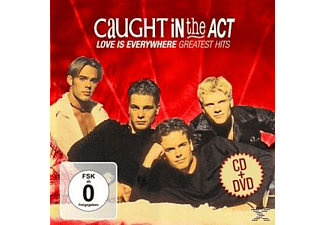 Caught In The Act - Love Is Everywhere-Greatest Hits - (CD + DVD Video)