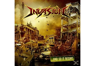 Invasion - And So It Begins [CD]