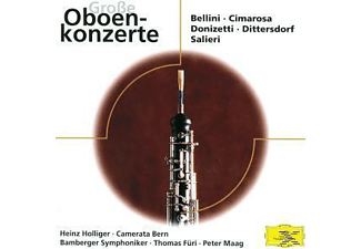 Various, Holliger/Demenga/Maag/Füri/Bes - Virtuose Oboenkonzerte [CD]