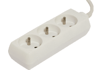 CHACON Bloc multiprise 1,5 m Blanc (48012)