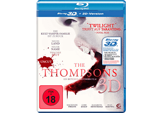 The Thompsons Uncut (3D) - (3D Blu-ray)