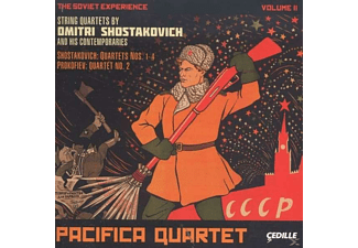 Pacifica Quartet - The Soviet Experience Vol.2 - (CD)