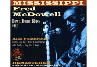 Mississippi Fred McDowell - A Country Bluesman Of Rare Authenticity - (CD)
