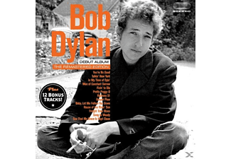 Bob Dylan - Bob Dylan (Debut Album)+12 Bonus Tracks [CD]