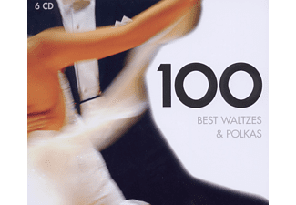 Various - 100 Best Waltzes & Polkas [CD]