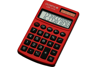 OLYMPIA LCD-1110 Red