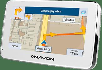 igo android magyarország térkép NAVON N490 PLUS White navigáció + iGO Magyarország térkép   Media  igo android magyarország térkép