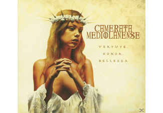 Camerata Mediolanense - Vertute / Honor / Bellezza [CD]