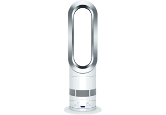 dyson ventilateur chaud et froid am05 white silver. Black Bedroom Furniture Sets. Home Design Ideas