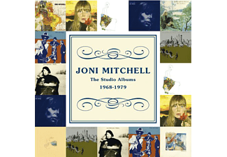 Joni Mitchell - The Studio Albums 1968-1979 (CD)