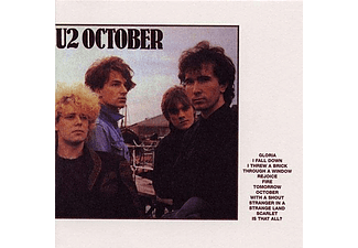 U2 - October (Vinyl LP (nagylemez))