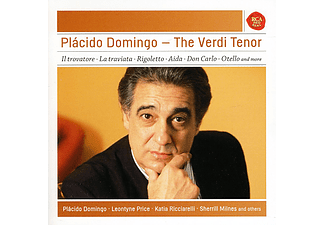 Plácido Domingo - The Verdi Tenor (CD)