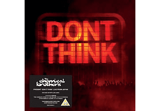 The Chemical Brothers - Don't Think - Live From Japan - Limited Edition (CD + Blu-ray)
