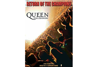 Queen & Paul Rodgers - Return Of The Champions (DVD)