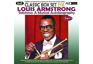 Louis Armstrong - Satchmo: A Musical Autobiography - Part 1 - (CD)