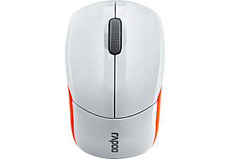 RAPOO 1190 OPTICAL WHITE W/ MOUSE