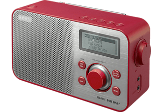 SONY MPE Radio portable rouge (XDRS60DBPR.CED)