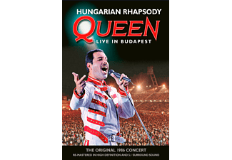 Queen - HUNGARIAN RHAPSODY - LIVE IN BUDAPEST [Blu-ray]