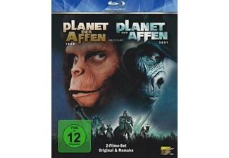 Planet der Affen (Original & Remake) [Blu-ray]