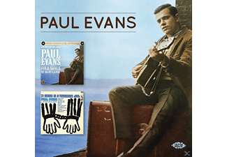 Paul Evans - Folk Songs Of Many Lands / 21 Years In A Tennessee Jail [CD]