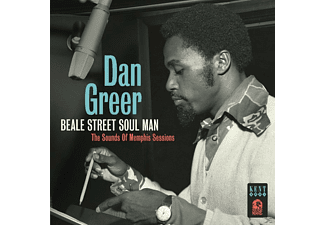 Dan Greer - Beale Street Soul Man / The Sound Of Memphis Sessi [CD]