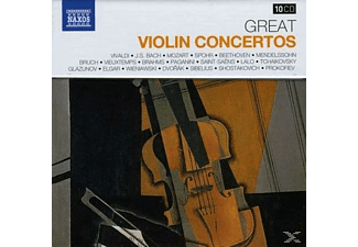VARIOUS - Grosse Violinkonzerte - (CD)