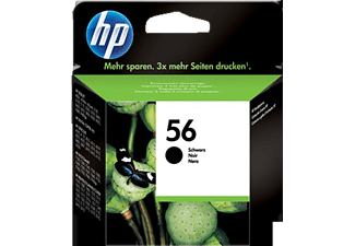 HP 56 Black Inkjet Print Cartridge - (C6656AE)