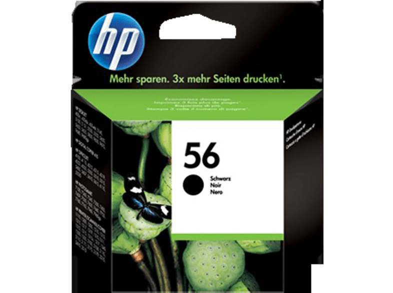 HEWLETT PACKARD 56 Black Inkjet Print Cartridge - (C6656AE) laptop  tablet  computing  εκτύπωση   μελάνια μελάνια  toner computing   tablets