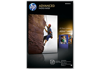 HP Advanced glättat fotopapper