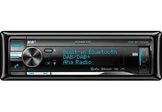 KENWOOD KDC-BT73DAB Autoradio (1 DIN, 50 Watt)