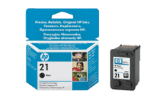 HEWLETT PACKARD 21 5ml Black - (C9351AE)