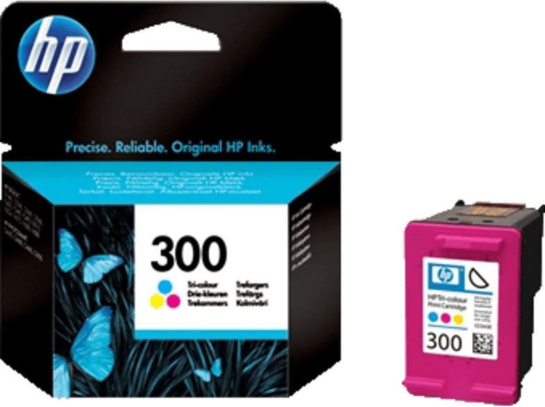 HEWLETT PACKARD 300 Tri-Color - (CC643E) laptop  tablet  computing  εκτύπωση   μελάνια μελάνια  toner
