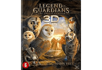 Legend Of The Guardians 3D | 3D Blu-ray