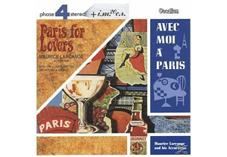 Maurice Larcange - Avec moi a Paris, Paris for Lovers - (CD)