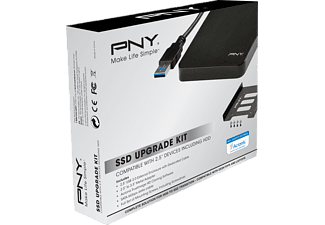 PNY P-91008663, Externes Upgrade Kit SSD, Schwarz