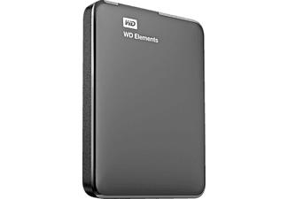 WESTERN DIGITAL Elements Port 1TB Black - (WDBUZG0010BBK-EESN)