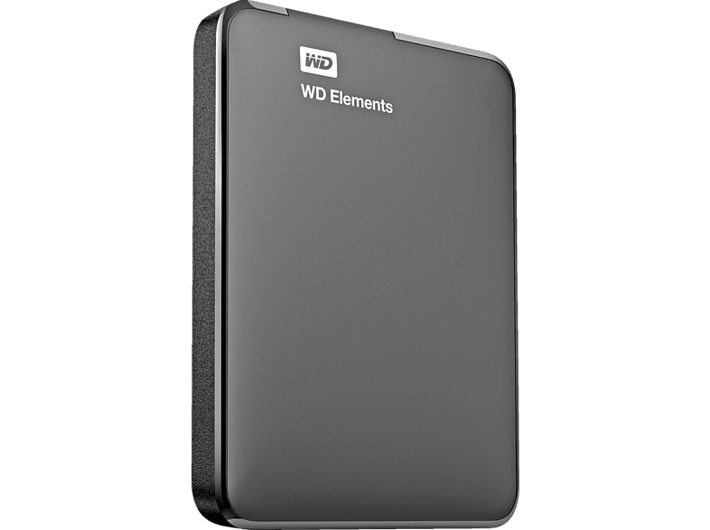 WESTERN DIGITAL Elements Port 1TB Black - (WDBUZG0010BBK-EESN) laptop  tablet  computing  αποθήκευση δεδομένων δίσκοι εξωτερικοί 2 5