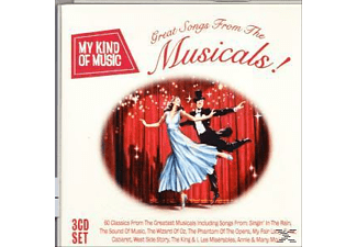 Various - My Kind Of Music: Great Songs From The Musicals [CD]
