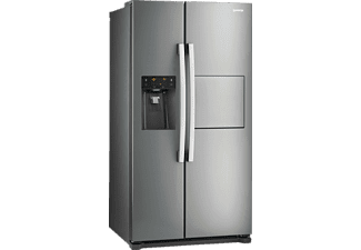 GORENJE NRS9181CXB Side-by-Side (445 kWh/Jahr, A+, 1770 mm hoch, Edelstahl)