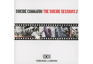 Suicide Commando - THE SUICIDE SESSIONS 2 - (CD)